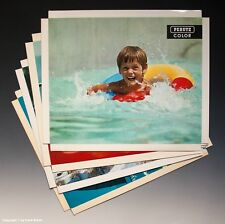 Konvolut Reklame Aufsteller 4 x PERUTZ COLOR um 1970-1971