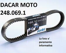 248.069.1 CINTURÓN CAMBIADOR POLINI EVOLUT. VESPA 250 GTS es decir, - 300 -GTV