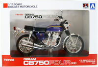 Aoshima Skynet 06594 Honda CB750FOUR (K2) Purple 1/12 Scale Finished Model