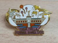 Los Angeles 1984 Olympic Pin Thank You L.A. Summer Games Designs by Magarita
