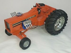 Vintage Big Ace Super Rod Allis-Chalmers Pulling Tractor By Ertl 1/16 Scale