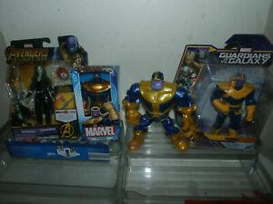 Marvel Guardians of the Galaxy lot - GAMORA THANOS Super Hero Mashers -