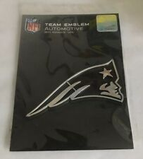 New England Patriots, Auto Emblem   Adhesive Decal (Plastic) *FREE SHIPPING*