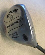 Callaway Big Bertha S2H2 RCH 60 Firm Flex Graphite Shaft RH 3 Wood Golf Club