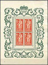 Liechtenstein 1965 SG#442 Madonna MNH Sheet Cat £58 #D59606