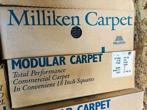 """Milliken MODULAR HEAVY DUTY TILE CARPET 18""""X18"""" (40.5 SQ. FT. 18 PCS PER BOX)"""