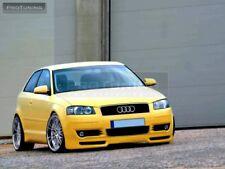 Pour Audi A3 8P 03-05 Pare-Chocs Avant Spoiler S Line Lip Cantonnière Addon S-line s3 rs3