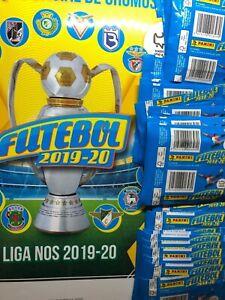 PANINI Album + 20 sealed packs (120 stickers) Futebol 2019-2020 . Ronaldo. Felix
