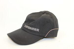 Liebherr schwarz graues Cap für Erwachsene UNISEX