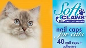 Feline Soft Claws Nail Caps for Cats & Kittens, in Assorted Sizes and Colors CLS