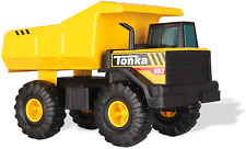 Classic Tonka Steel Mighty Dump Truck Metal Yellow Toy Retro Original