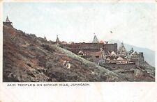 POSTCARD  INDIA -  JUNAGADH - JAIN TEMPLES ON GIRNAR HILLS