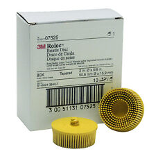 3M Scotch-Brite™ Roloc™ Bristle Disc 07525, 2 inch, 80 grit  (Sold per disk)