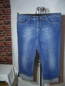 "dreiviertel Jeans, blau, Gr. 44, ""S.Oliver"""