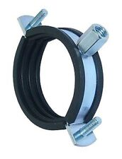 "8"" 200mm Suspension Support Split Clip Bracket c/w Rubber Linner, Spiral Ducting"