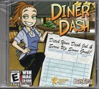 Diner Dash 1 PC Games Windows 10 8 7 XP Computer time management one NEW