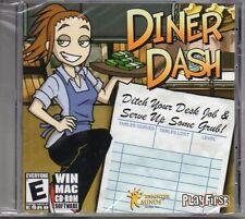 Diner Dash 1 PC Games Windows 10 8 7 Vista XP Computer time management one NEW