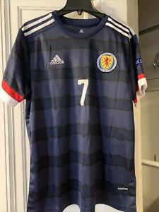Scotland 20201/2021 Adidas Home Jersey Size Large Forrest