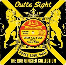 R&B SINGLES COLLECTION VOLUME 2  Various NEW & SEALED CD (OUTTA SIGHT) NORTHERN