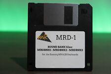 Ensoniq MR & ZR Series MRD-1 Sound Banks Disk - MR-61 MR-76  ZR-76MRD1