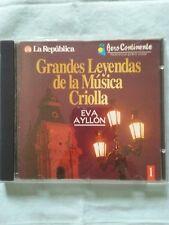 Eva Ayllon  [Grandes Leyendas de la Musica Criolla ] Latin music from Peru CD