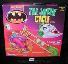 The Joker Cycle Vehicle Dark Knight Collection Kenner 1990