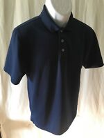 Beverly Hills Polo Club Brand Men's Polo Shirt Size S Short sleeve Navy Blue