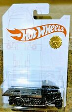 2020 HOT WHEELS FAST-BED HAULER CUSTOM ROSE GOLD SUPREME DIECAST CARS TOYS #1/1