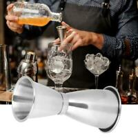 Cocktail Bar Jigger Stainless Steel Double Cup Measuring Cup Bartending Cups