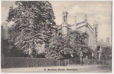 St. Barnabas Church Kensington, London Postcard B796