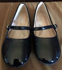 Dress Ballet Mary Jane Flat Shoes, Black Patent, Sz.1-little Kid. Worn Once