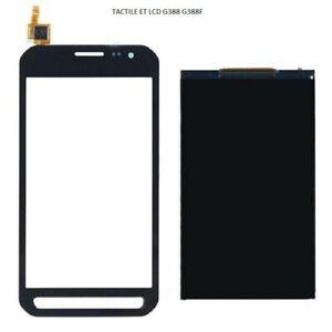LCD et Vitre tactile pour Samsung Xcover 3 SM-G388F noire