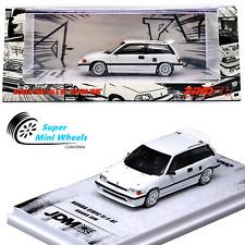 INNO64 HONDA CIVIC Si E-AT (White) OSAKA JDM - With extra wheels & Decals