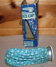 Vintage Walgreens Ice Cap Rubberized Fabric Ice Pack Watertight Wide Opening