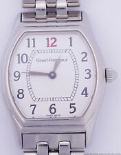 Scarce Girard Perregaux Ref 2602 Large Red Black Number Ladies Automatic Watch