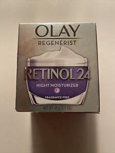 Olay Regenerist Retinol 24 Night Moisturizer Fragrance Free- 1.7oz