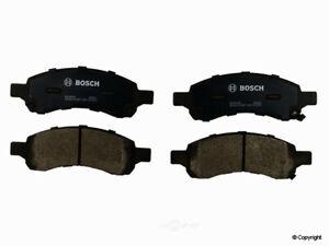 Disc Brake Pad Set-Bosch QuietCast Front WD Express 520 11691 462