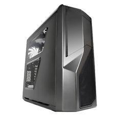 Nzxt Phantom 410 Gunmetal Gris ATX CAJA DE PC USB 3 con ventana lateral y refrigeración ventiladores