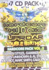HARDCORE TILL I DIE VS UPROAR 7 X CD PACK ! DARREN STYLES BRISK JOEY RIOT DJ MC