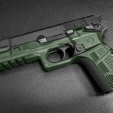Grip and Rail System made for the Browning and Fn Hi Power in color Green