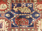 4'x10' Authentic Vintage Unique Hand knotted wool Oriental Antique rug runner