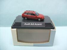 Busch - AUDI A4 AVANT rouge Voiture HO 1/87