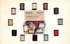 Rare Vintage Alba Sewing Threads Cotton Advertising Card, Ephemera, Canada 16U