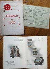 Vanity/Perfume/Beauty/Medicinal Liqueur 1915 French Catalog/Brochure
