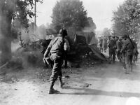 7x5 Gloss Photo ww41B Normandy English Channel Avranches August 1944