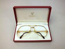 original Cartier Brille 62-14, Brillenfassung vintage glasses occhiali