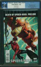 ULTIMATE SPIDER-MAN 153 PGX 9.8 Iron Man Sara Pichelli Variant 1:20 2011 CGC