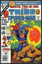 Marvel Two-in-One Annual #2 VFN-