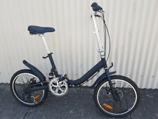 "20"" Folding bikes with suspension mud guards side stand"