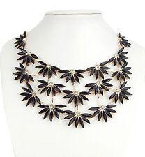 Modeschmuck-Halsketten & -Anhänger aus Strass und Gemischte Metallen mit Florales